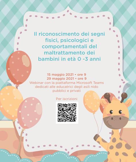 WEBINAIR FORMATIVO PER EDUCATRICI DI NIDO E MICRONIDO