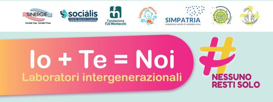Io + Te = Noi – Laboratori intergenerazionali